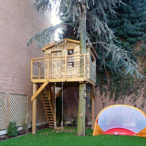 Unique Construire une cabane en bois chez soi avec Pure Aventure WJ29