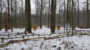 Le parc en hiver